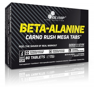 Olimp Beta-Alanine Carno Rush 80 Tab